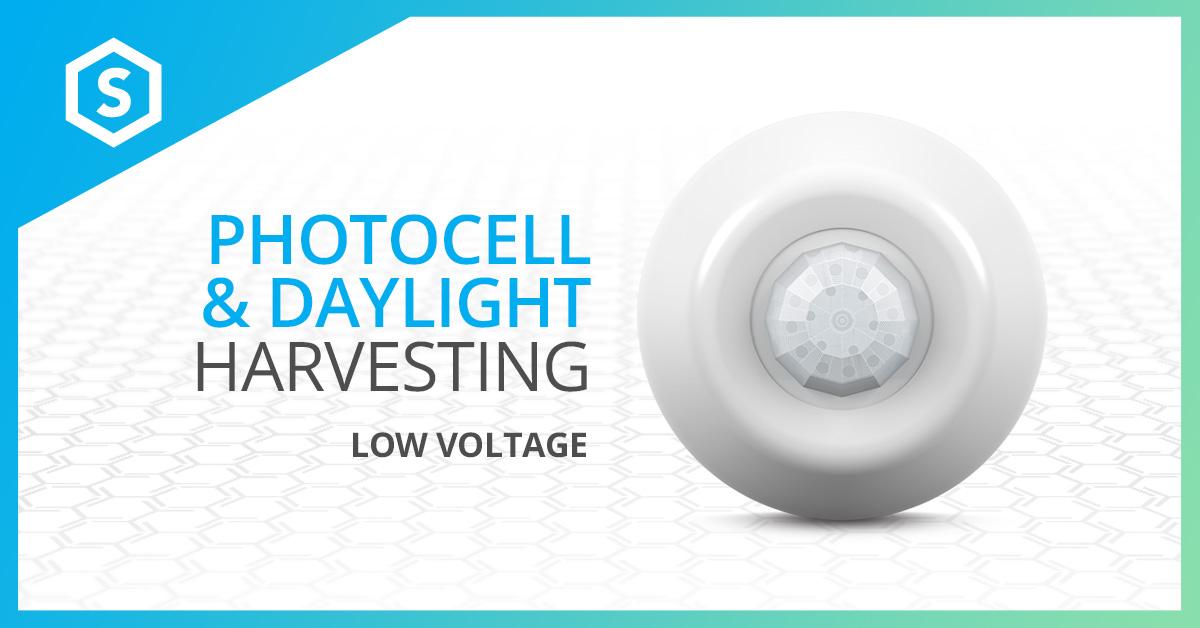Low Voltage Photocell & Daylight Harvesting - SENSORWORX on