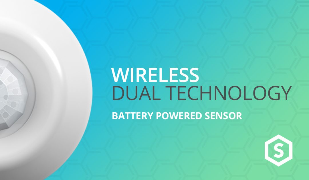 Wireless Dual Tech Sensors